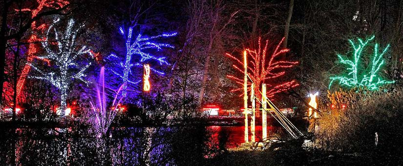 Christmas Light Tour of Niagara Falls
